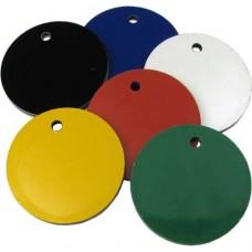 Chapa Circulo de Plastico 25mm