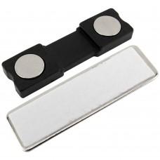 Fijadores placas ID magnéticos 45x13mm (10 unidades)