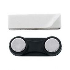 Fijadores placas ID magnéticos 33x11mm (10 unidades)