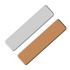 Placas de Trofeo (Esquinas Redondas) 50x16mm